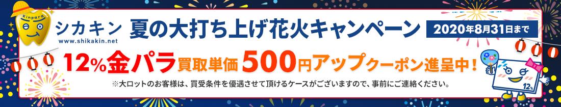 夏の大打ち上げ花火キャンペーン